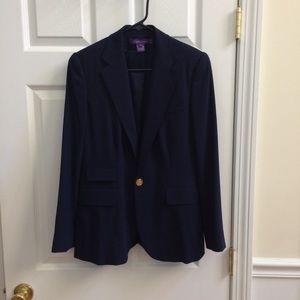 Ralph Lauren navy wool blazer 6